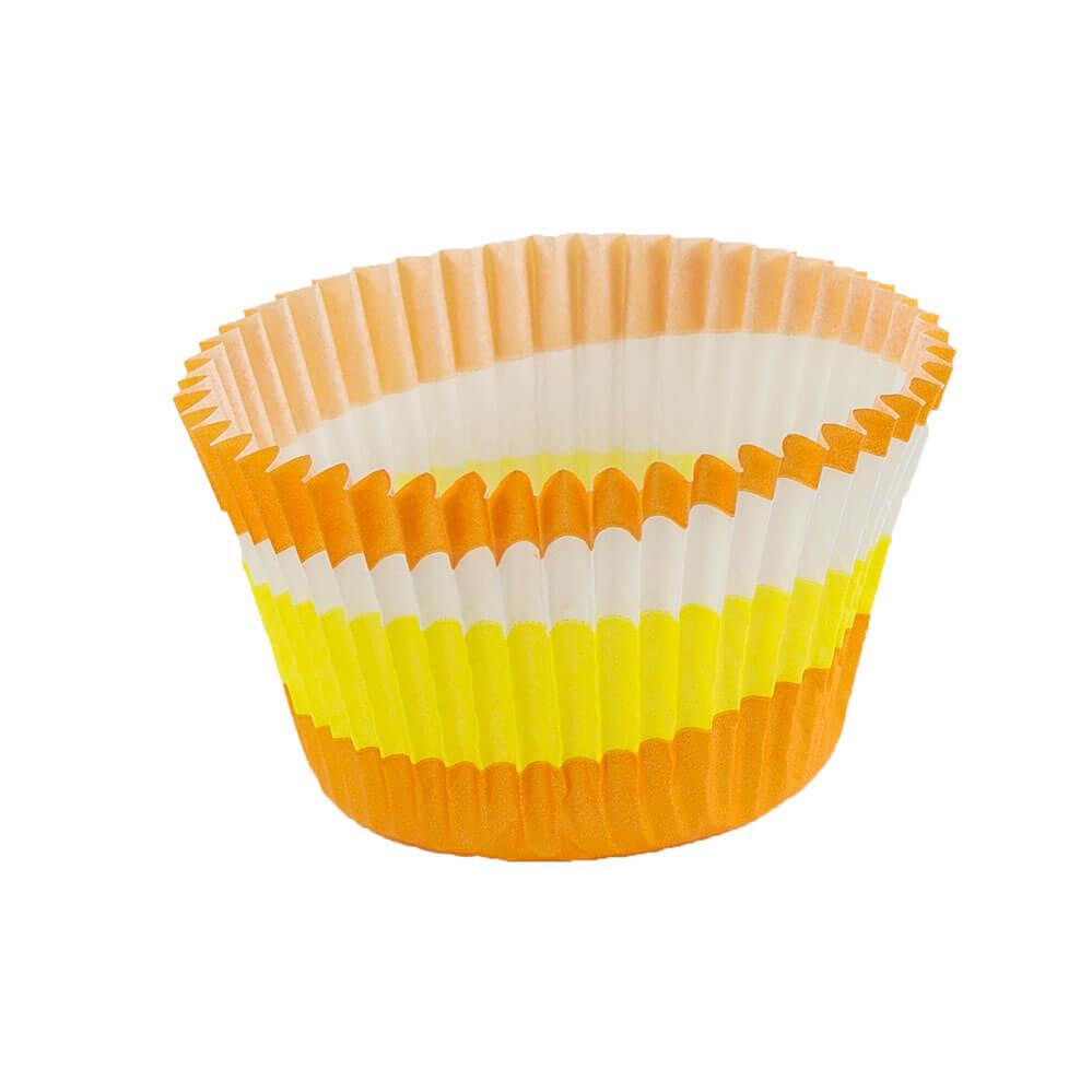Orange Circle Baking Cup 62 X 52 Novacart