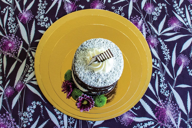 Gold Cake Boards Novacart